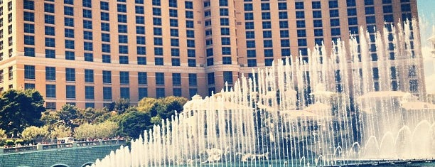 Bellagio Hotel & Casino is one of Lugares favoritos de Moe.
