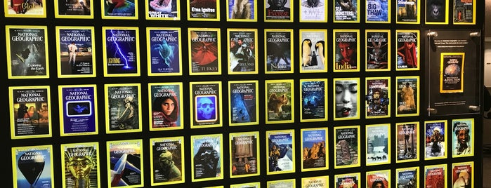 National Geographic Society is one of Washington DC.