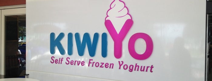 KiwiYo Self Serve Frozen Yoghurt is one of Auckland.