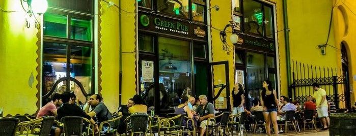 Green Pub is one of Locais curtidos por Laszlo.