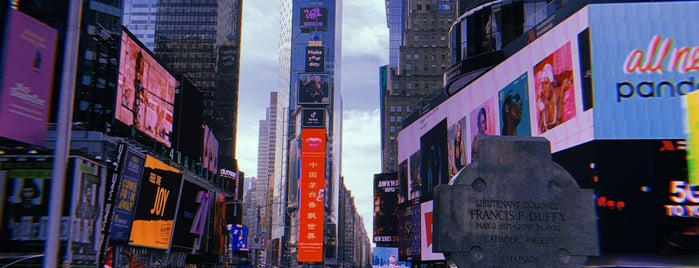 Times Square Tower is one of Lijst?.
