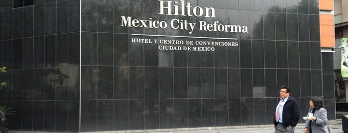 Hilton Mexico City Reforma is one of HOTELES FRIENDLY CIUDAD DE MEXICO.