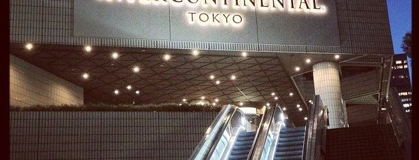 ANA InterContinental Tokyo is one of Orte, die Vic gefallen.