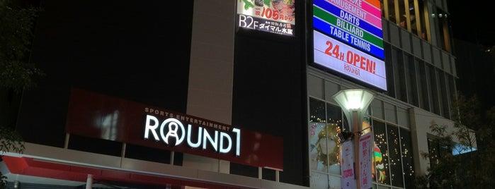 Round1 is one of Lugares favoritos de Madoka.