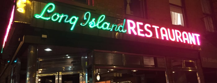 The Long Island Bar is one of Boerum Hill/Cobble Hill/Brooklyn Heights.