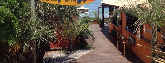 San Diego Bar and Grill is one of Praia do Rosa.