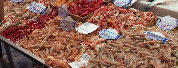 Mercado de La Antilla is one of Locais curtidos por Curro.