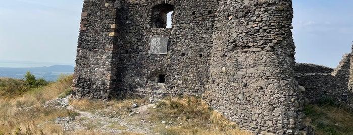 Csobánci Vár is one of Kékkút.
