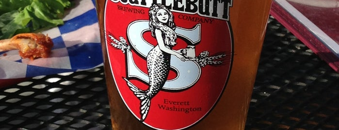 Scuttlebutt Brewing Company is one of Lugares favoritos de kristy.