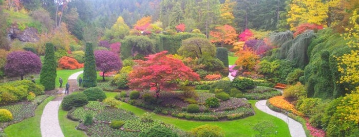 Butchart Gardens is one of World Heritage Sites!!!.