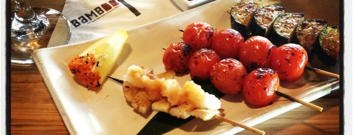 Bamboo Izakaya is one of Locais curtidos por Dress for the Date.
