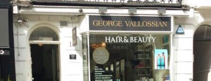 George Vallossian Hair Salon is one of london list.