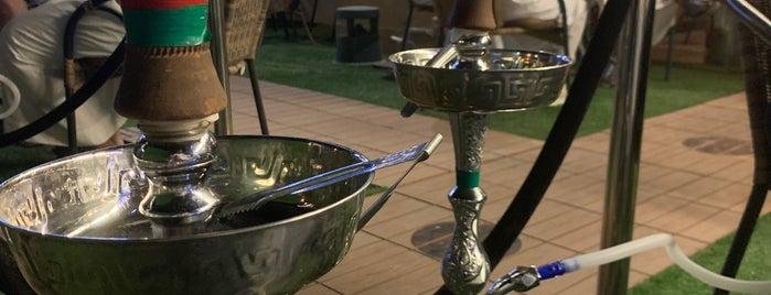 crepe cone cafe is one of Hookah (Riyadh).