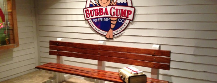 Bubba Gump Shrimp Co. is one of Cancún.