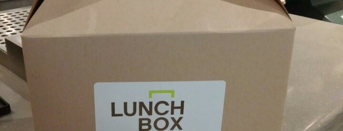 Lunchbox is one of DC Bucket List.
