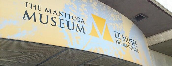 The Manitoba Museum is one of Winnipeg.
