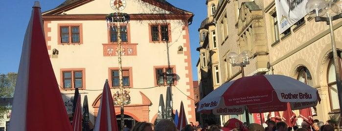 Marktplatz is one of Orte, die Erik gefallen.