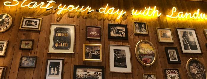Cafe Landwer is one of NA & ZA lijst.