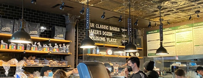 Zucker's Bagels & Smoked Fish is one of To-Try: Uptown Restaurants.