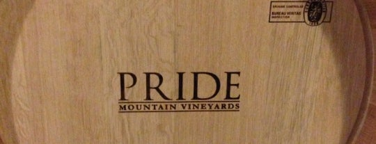 Pride Mountain Vineyard Caves is one of Locais curtidos por David.