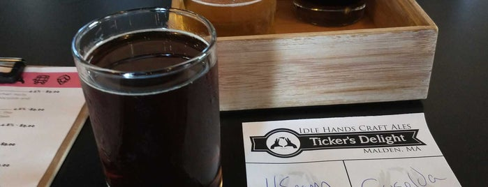 Idle Hands Craft Ales is one of Boston/Salem Map.