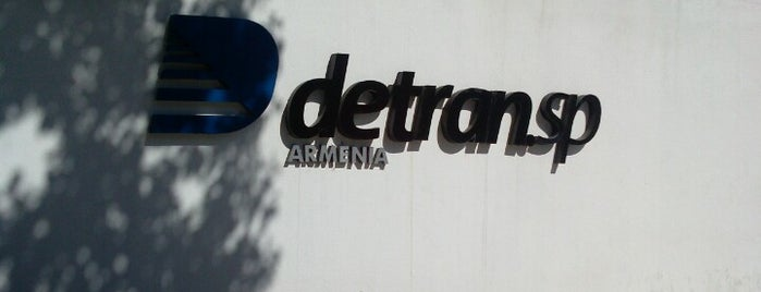 Departamento Estadual de Trânsito (DETRAN) is one of Tempat yang Disukai Heloisa.
