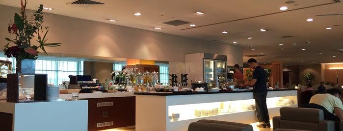 SATS Premier Lounge is one of สถานที่ที่ Caro ถูกใจ.