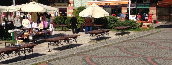 Bedesten Çarşısı is one of Edirne Rehberi.