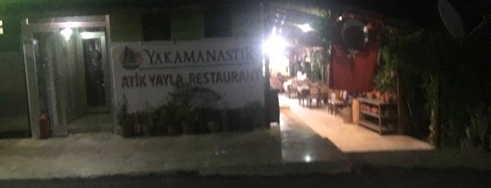 Yakamanastır Atik Yayla Restaurant is one of  Murat 님이 좋아한 장소.