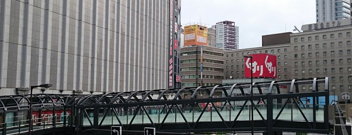 Yodobashi Bridge is one of สถานที่ที่ kiha58 ถูกใจ.