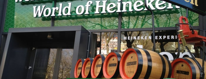 Heineken Experience is one of Locais curtidos por Meric.