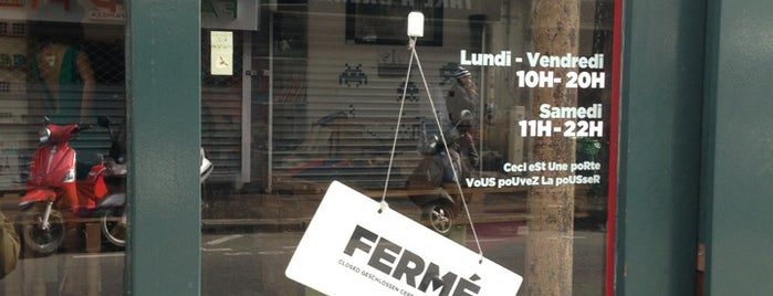 La Fausse Boutique is one of Lieux sauvegardés par Ivan.