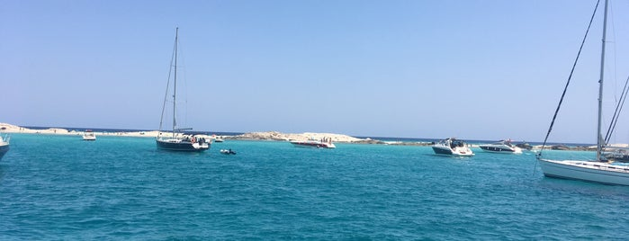 Playa de Espalmador is one of Formentera.