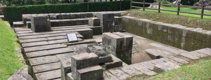 反射炉跡 is one of 西郷どんゆかりのスポット.