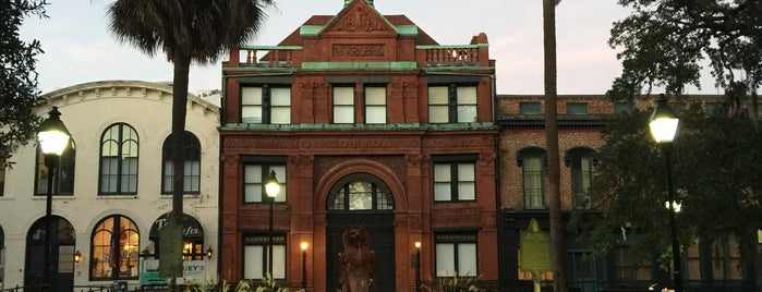 Old Savannah Cotton Exchange is one of Chrisさんのお気に入りスポット.