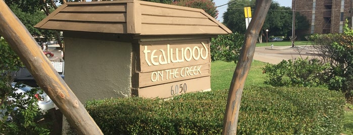 Tealwood on the Creek is one of Orte, die Chris gefallen.