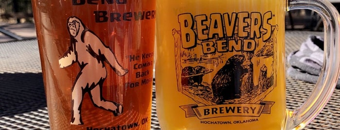Beavers Bend Brewery is one of Best Breweries in the World 2.