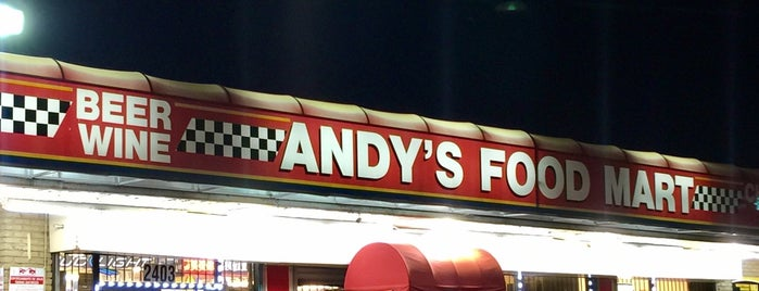 Andy's Food Mart is one of Locais curtidos por Chris.