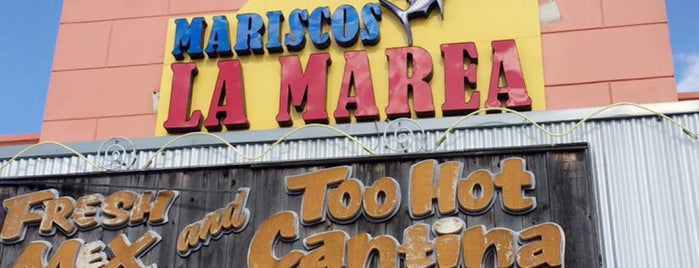 Mariscos La Marea is one of Chrisさんのお気に入りスポット.