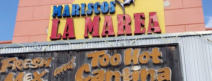 Mariscos La Marea is one of Chris'in Beğendiği Mekanlar.