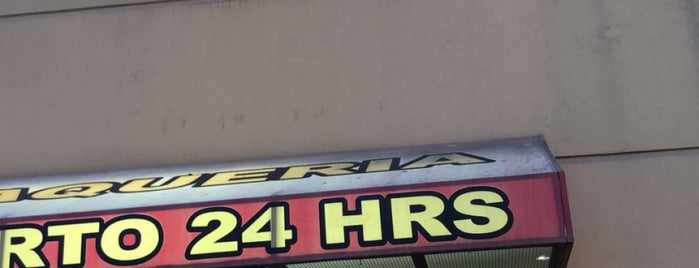Taqueria Abierto 24 Hours is one of Lugares favoritos de Chris.
