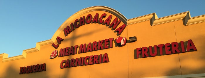 La Michoacana Meat Market is one of Chris'in Beğendiği Mekanlar.