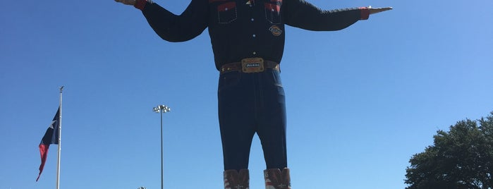 Big Tex is one of Chris'in Beğendiği Mekanlar.