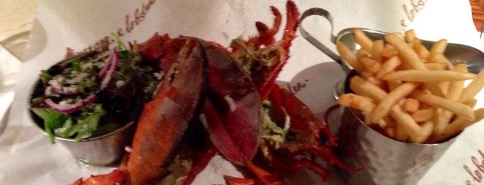 Burger & Lobster is one of Chris : понравившиеся места.