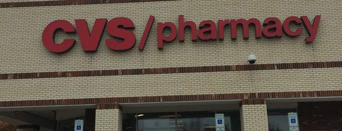 CVS pharmacy is one of Chris'in Beğendiği Mekanlar.