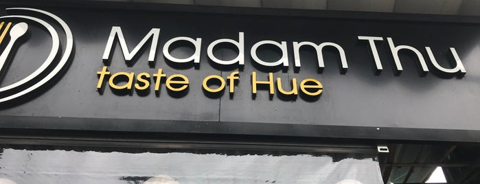 Madam Thu Restaurant_Local Specialty Restaurant is one of Garett 님이 저장한 장소.