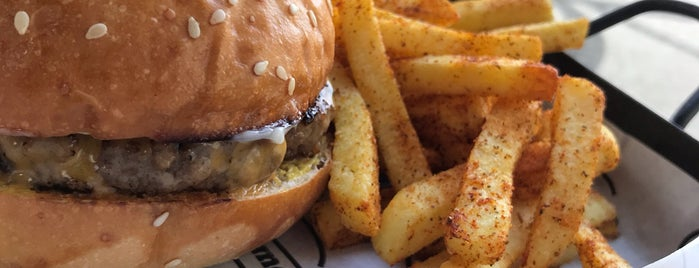 Burgerhub is one of Volkan : понравившиеся места.