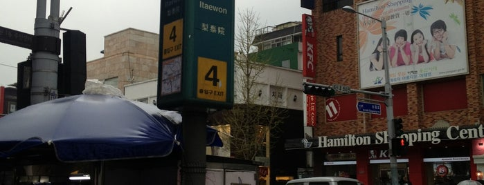 Itaewon Stn. is one of TODOss.