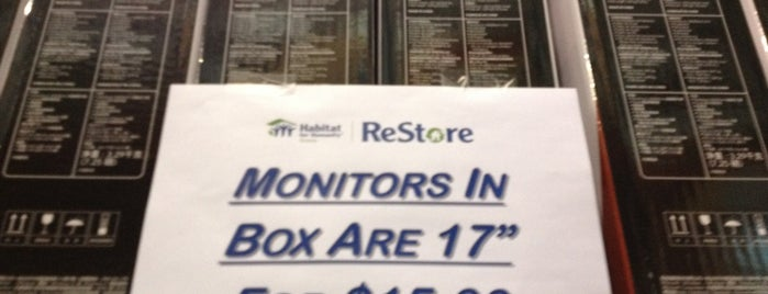 ReStore - Habitat for Humanity is one of Business Resources.