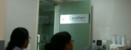 Cavallieri Clinica de Diagnostico por Imagem is one of Locais salvos de Priscila.